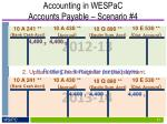 accounting in wespac accounts payable scenario 44