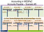accounting in wespac accounts payable scenario 51