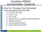 accounting in wespac accounts payable scenario 64