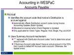 accounting in wespac accounts payable5