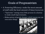 goals of progressivism3
