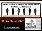 coffin handbills