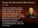 from the kentucky resolution of 1798