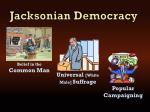 jacksonian democracy1