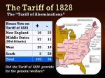 the tariff of 18281