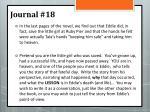 journal 18