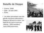 bataille de dieppe