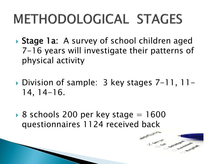 METHODOLOGICAL  STAGES