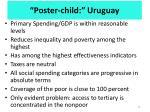poster child uruguay