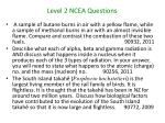 level 2 ncea questions