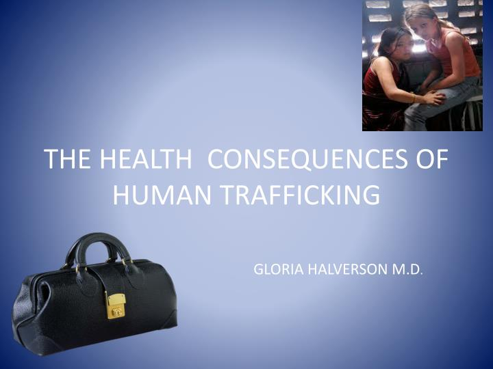 the health consequences of human trafficking n.