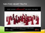 nih the heart truth