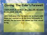 closing the elder s farewell1