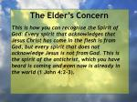 the elder s concern10