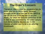 the elder s concern13
