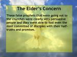 the elder s concern26