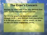 the elder s concern31
