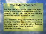 the elder s concern38