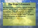 the elder s concern6