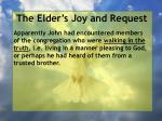 the elder s joy and request3