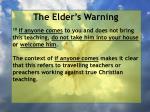 the elder s warning5