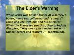 the elder s warning7