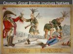 causes great britain involves natives