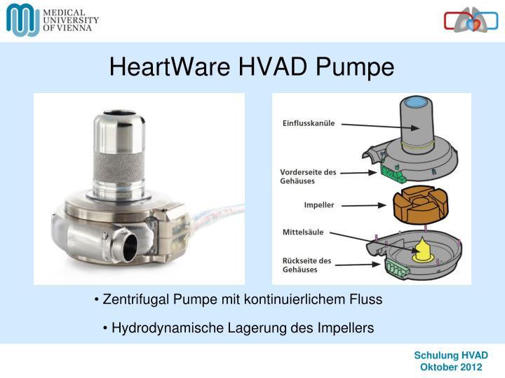 ppt left ventricular assist device lvad heartware hvad t