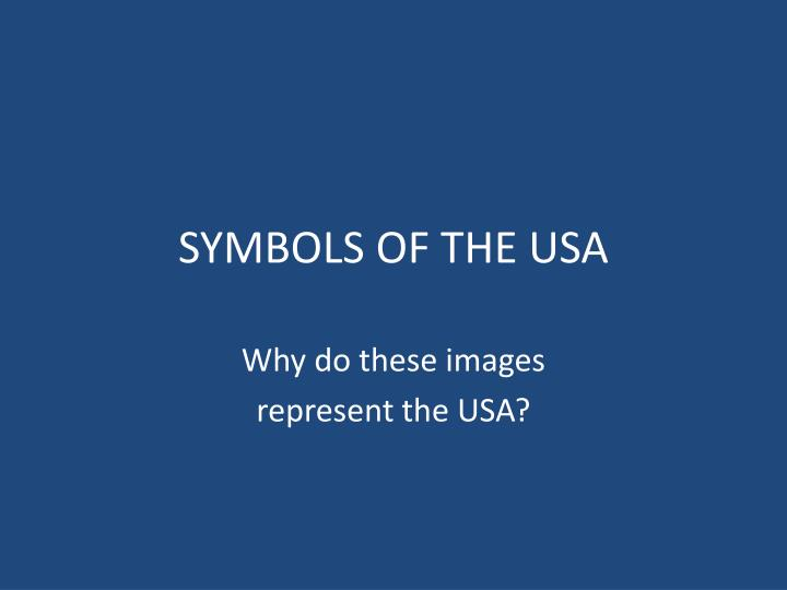 symbols of the usa n.