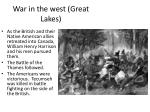 war in the west great l akes