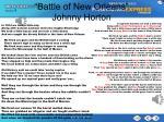 battle of new orleans johnny horton