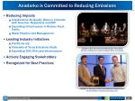anadarko is committed to reducing emissions