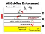 all but one enforcement5