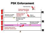 psk enforcement