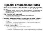 special enforcement rules1