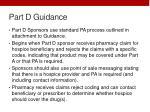 part d guidance4