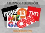 ejemplos televisi n