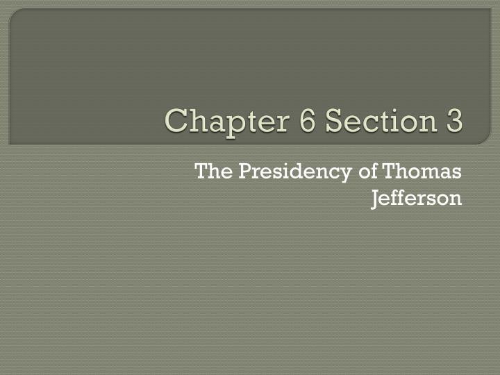 chapter 6 section 3 n.