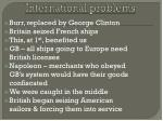 international problems