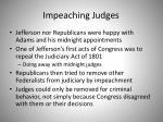 impeaching judges