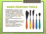 knife painting tools