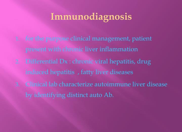 Immunodiagnosis