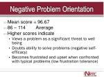 negative problem orientation1