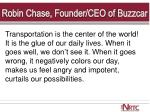 robin chase founder ceo of buzzcar
