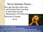 terror between towns