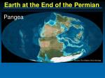 earth at the end of the permian