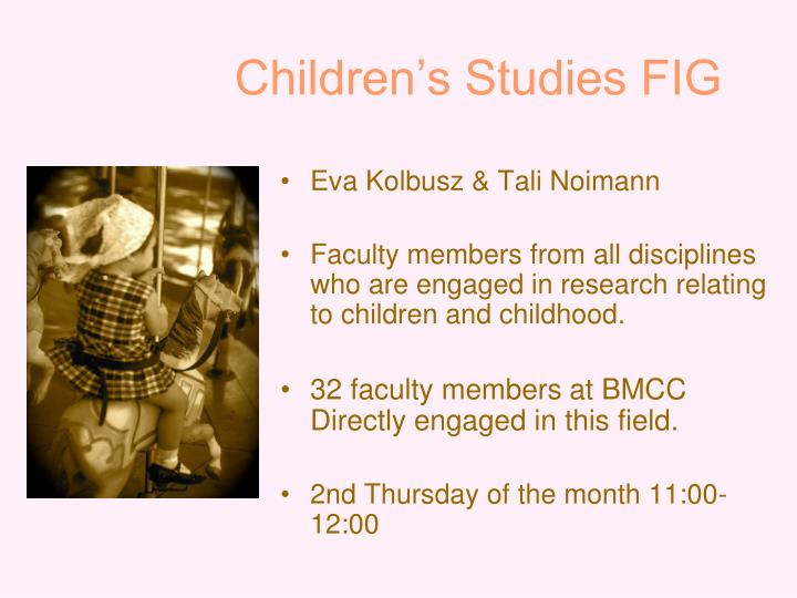 children s studies fig n.