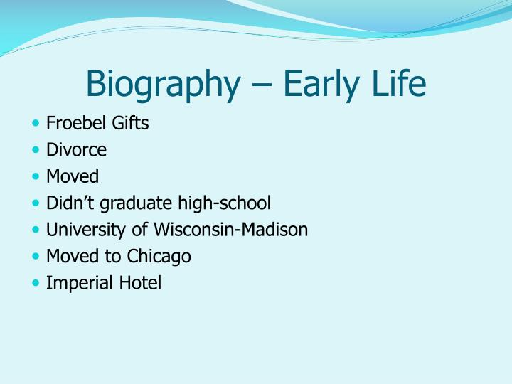 Biography – Early Life