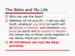 the bible and my life35