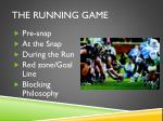 the running game1